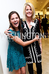 Mikayla and Kiersten Allen. Photo by Tony Powell. Kickoff for Key to the Cure. Saks Tyson's Galleria. October 18, 2012