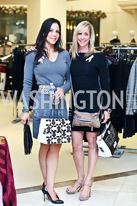 Rachel James, Leanne Myers. Photo by Tony Powell. Kickoff for Key to the Cure. Saks Tyson's Galleria. October 18, 2012