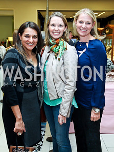 Sumedha Mongia, Harriet Church, Michael Hobson. Photo by Tony Powell. Kickoff for Key to the Cure. Saks Tyson's Galleria. October 18, 2012