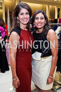 Monica Samtani, Anjali Varma. Photo by Tony Powell. Kickoff for Key to the Cure. Saks Tyson's Galleria. October 18, 2012