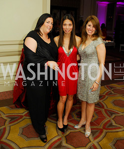 Tammy Golberg,Amber Hsu,Leslie Greenberg, November 1.2012,Knock Out Abuse 2012,Kyle Samperton