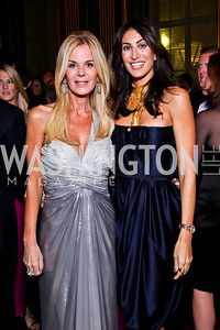 Susanna Quinn, Jennifer Camel Toueg. Photo by Tony Powell. 2012 LUNGevity Gala. Mellon Auditorium. September 14, 2012
