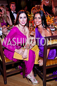 Amy Baier, Abeer Shoukry. Photo by Tony Powell. 2012 LUNGevity Gala. Mellon Auditorium. September 14, 2012
