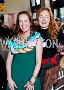 Jacqueline Henry, Amanda Ravitz. Photo by Tony Powell. 'La Vie En Rose' Luncheon. French Embassy. October 10, 2012