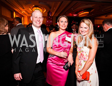 Christopher Hertz, Emily Butler, Christina Kutchta. Leadership Greater Washington's Annual Awards Gala. Photo by Tony Powell. JW Marriott. April 17, 2012