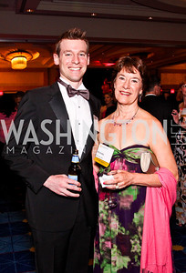 Peer Larson and Michelle Lees. Leadership Greater Washington's Annual Awards Gala. Photo by Tony Powell. JW Marriott. April 17, 2012