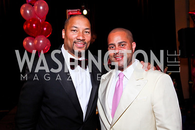 Montez Anderson, Brett Greene. Leadership Greater Washington's Annual Awards Gala. Photo by Tony Powell. JW Marriott. April 17, 2012