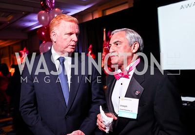 Jim Dinegar, Joseph Persichini. Leadership Greater Washington's Annual Awards Gala. Photo by Tony Powell. JW Marriott. April 17, 2012