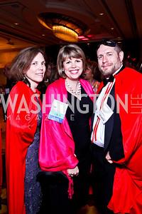 Kristin Gerlach, Lidya Soto-Harmon, Stephe McMahon. Leadership Greater Washington's Annual Awards Gala. Photo by Tony Powell. JW Marriott. April 17, 2012