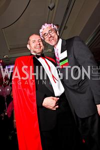 Stephe McMahon, Stuart Freudberg. Leadership Greater Washington's Annual Awards Gala. Photo by Tony Powell. JW Marriott. April 17, 2012