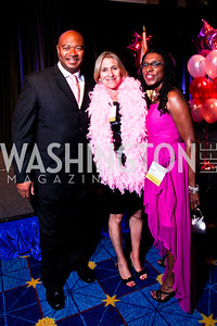 Allan Herring, Mieka Wick, Tonya Kinlow. Leadership Greater Washington's Annual Awards Gala. Photo by Tony Powell. JW Marriott. April 17, 2012