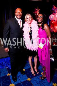 Allan Herring, Mieka Wick, Tonya Kinlow. Leadership Greater Washington's Annual Awards Gala. Photo by Tony Powell. JW Marriott. April 17, 2012