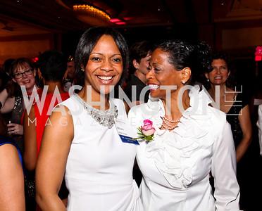 Mioshi Moses, Joy Dorsey. Leadership Greater Washington's Annual Awards Gala. Photo by Tony Powell. JW Marriott. April 17, 2012
