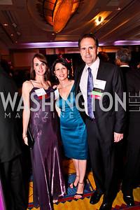 Martina Souckova, Madeline Larkin, Adam Ostrach. Leadership Greater Washington's Annual Awards Gala. Photo by Tony Powell. JW Marriott. April 17, 2012
