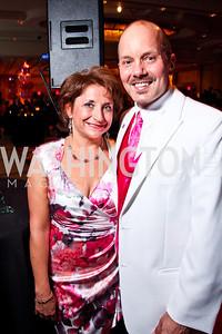 Julie Rosenthal, Tim Kime. Leadership Greater Washington's Annual Awards Gala. Photo by Tony Powell. JW Marriott. April 17, 2012