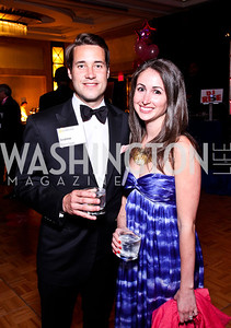 Andrew and Katie Graves. Leadership Greater Washington's Annual Awards Gala. Photo by Tony Powell. JW Marriott. April 17, 2012