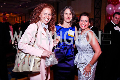 Bethany Blakey, Julie Meyer, Angela Hartley. Leadership Greater Washington's Annual Awards Gala. Photo by Tony Powell. JW Marriott. April 17, 2012