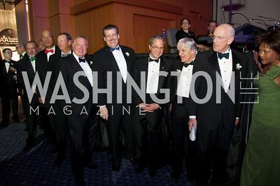 Pat Minan, Steve Lilly, Dan Johnson, C.E. Andrews, Jim McAndrews, Bill Hoover, Bob Quinlan, John Schwieters and Rusty Jackson