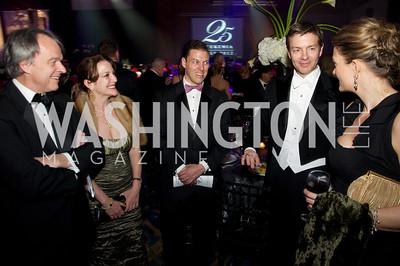 John Mahoney, Paula Mahoney, Sam Anderson, Mr. and Mrs. Ken Fischbach