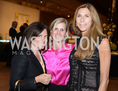 Izette Folger, Molly Donovan, Lorie Peters Lauthier,  Roy Lichtenstein Retrospective opens at the National Gallery of Art.  Photo by Ben Droz.