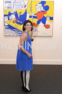 Nina O'Neil, Roy Lichtenstein Retrospective opens at the National Gallery of Art.  Photo by Ben Droz.