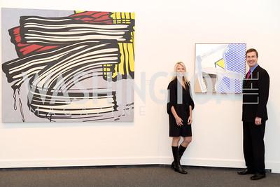 Dawn, Lenhardt, David Lenhardt, Roy Lichtenstein Retrospective opens at the National Gallery of Art.  Photo by Ben Droz.