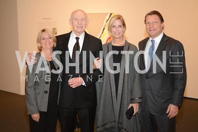 Lynette Matz, Aaron Fleischman, Bettina Young, Greg Young, Roy Lichtenstein Retrospective opens at the National Gallery of Art.  Photo by Ben Droz.