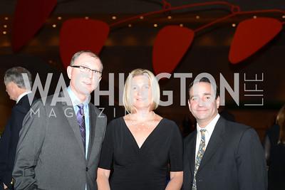 Allen Blevins, Heidi Strassner, Jason Strassner, Roy Lichtenstein Retrospective opens at the National Gallery of Art.  Photo by Ben Droz.