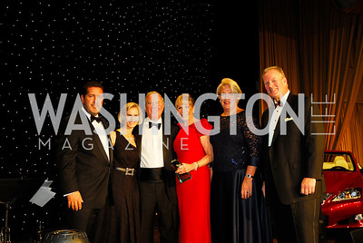 Brian Katz,Jill Kirkpatrick,Paul Schweitzer,,Barbar McDuffie,Laurie Hodges Lapeyre,Walter Hodges,November 3,2012,Lombardi Gala.Kyle Samperton