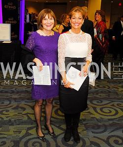 Barabara Goodwyn, Susan Davis,November 3,2012,Lombardi Gala,kyle Samperton