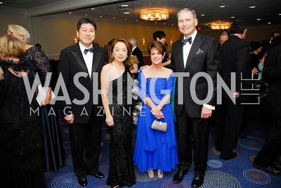 Ryuji Ueno,Sachiko Kuno,Harriet Weiner,Louis Weiner,November 3,2012,Lombardi Gala,kyle Samperon