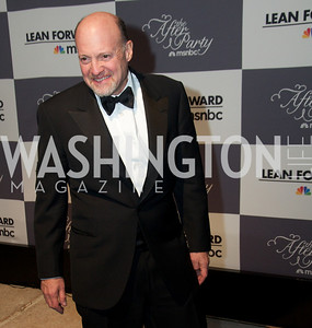 Jim Kramer.  WHCD Afterparty , sponsored by MSNBC at the Italian Embassy.  Photo by Ben Droz