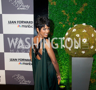 Tamron Hall. WHCD Afterparty , sponsored by MSNBC at the Italian Embassy.  Photo by Ben Droz