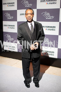 Reverend Al Sharpton.  WHCD Afterparty , sponsored by MSNBC at the Italian Embassy.  Photo by Ben Droz