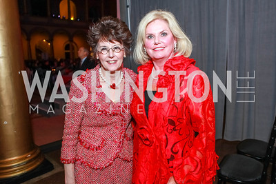 Franni Franken, Cynthia Rogers. March of Dimes Gourmet Gala.  National Building Museum. April 25, 2012. Photo by Alfredo Flores