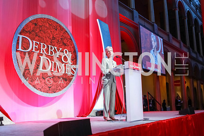HHS Secretary Kathleen Sebelius. March of Dimes Gourmet Gala.  National Building Museum. April 25, 2012. Photo by Alfredo Flores