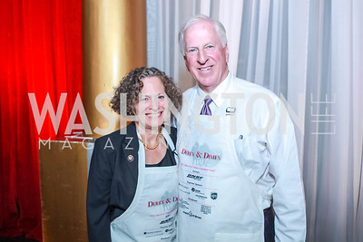 Janet Thompson, Rep. Mike Thompson (CA). March of Dimes Gourmet Gala.  National Building Museum. April 25, 2012. Photo by Alfredo Flores