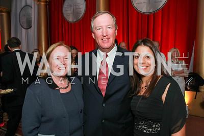 Ellen Hanway, Ed Hanway, Shalini AR Wittstruck.  National Building Museum. April 25, 2012. Photo by Alfredo Flores