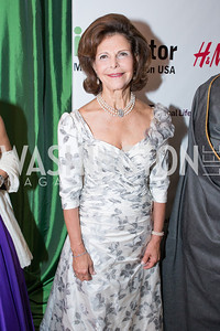 HM Queen Silvia of Sweden. Mentor Foundation USA International Gala. Photo by Alfredo Flores. Four Seasons Hotel. September 20, 2012