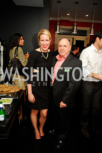 Lindley Thornburg, David Hagedom,October 23,2012.Michael Andrews Bespoke Opening,Kyle Samperton