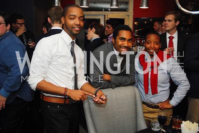 Kevin Gray,Kendrick Jackson,Che F.M.October 23,2012.Michael Andrews Bespoke Opening,Kyle Samperton