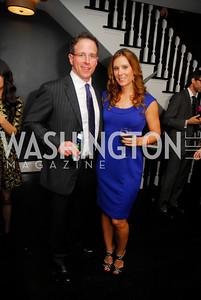 Tom Allen,Tonya Wearner,October 23,2012.Michael Andrews Bespoke Opening,Kyle Samperton