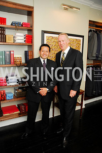 Ernie Arias,Andrew Davidson,October 23,2012.Michael Andrews Bespoke Opening,Kyle Samperton