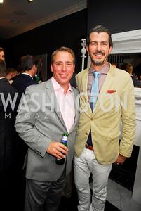 Chris Ginder,Braulio Agnese,October 23,2012.Michael Andrews Bespoke Opening,Kyle Samperton