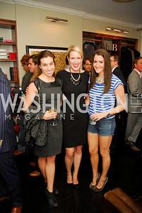 Meredith Carter,Lindley Thornburg,Meredith Fineman,October 23,2012.Michael Andrews Bespoke Opening,Kyle Samperton