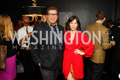 Jared Harrison,Rachel Cothran,October 23,2012.Michael Andrews Bespoke Opening,Kyle Samperton