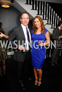 Tom Allen,Tonya Wearner,October 23,2012.Michael Andrews Bespoke Opening,Kyle Samperton