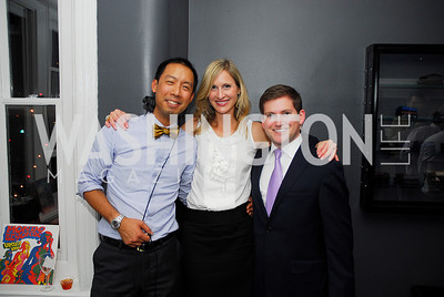 Benjamin Chang,Ashley Chandler,Matt Baker,October 23,2012.Michael Andrews Bespoke Opening,Kyle Samperton