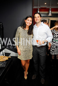 Brooke Daley,Keith Huffman,October 23,2012.Michael Andrews Bespoke Opening,Kyle Samperton