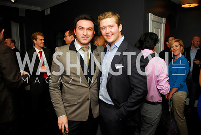 Michael  Woestehoff,Daniel Heider,October 23,2012.Michael Andrews Bespoke Opening,Kyle Samperton